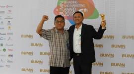 KBN Mendapat Penghargaan di Ajang BUMN Branding & Marketing Award
