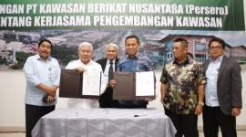 PT. KBN (Persero) Tandatangani MoU dengan PemkabTakalar